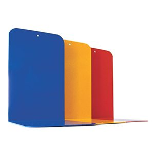 Coloured Metal Bookends