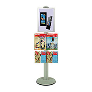 1450mm-A3-poster-and-brochure-display-pole