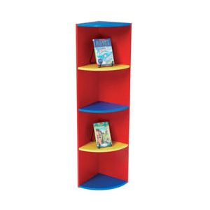 Coloured-Corner-Book-Display