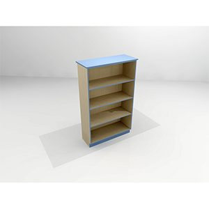 Mel Shelving Straight Top - Single Sided