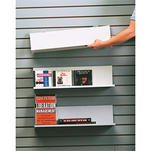 Slidewall Metal Shelves