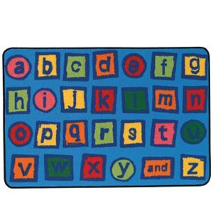 Alphabet Value Seating Rug