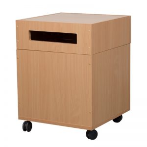 Book return trolley - Lockable