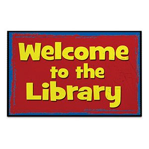 Welcome to the Library Mat - Senior