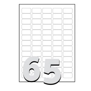 Avery L7651 Laser Spine Labels – 5 Across