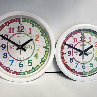 Easy Read Time Teacher Clock (WALIB)