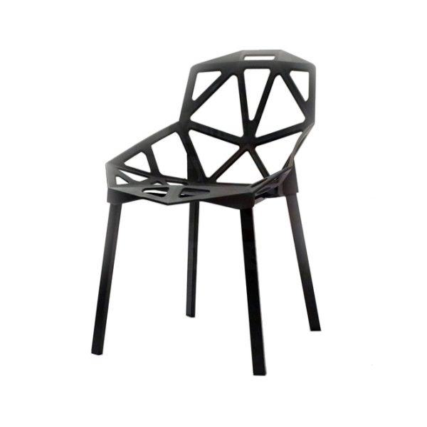 TOMMY SWISS CHAIR BLACK