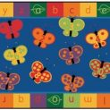 ABC 123 Butterfly Mat