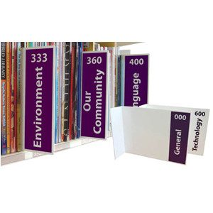 Acrylic Collection Divider & Signs