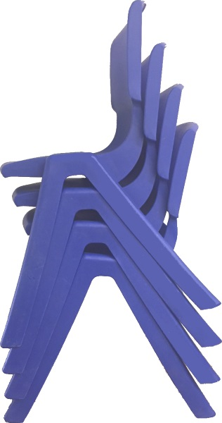 DISCONTINUED – Adults Plastic Dtack Chair
