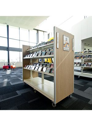 Hydestor Library Metal Shelving