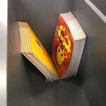 Close Up – Browser Box with Seat (Book display example)