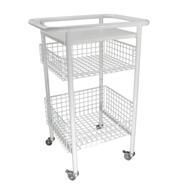 OHP Wire Basket Trolley