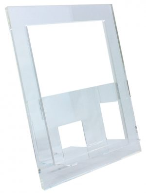 Transparent Acrylic Book of the Day Display Easel