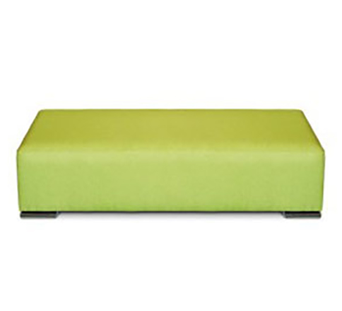 Lido Library Bench Seating Ottoman