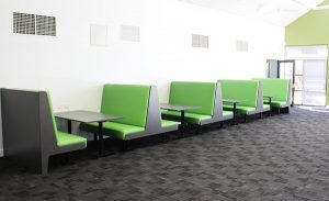 Library Booth Seating