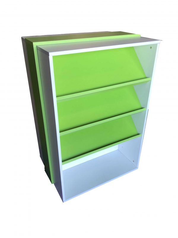Mobile Display Bookcase