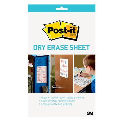 dry erase whiteboard sheet
