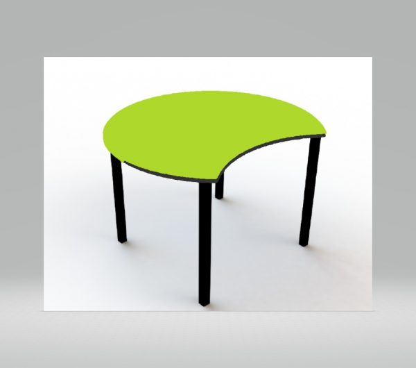 classroom library furniture - green pacman table