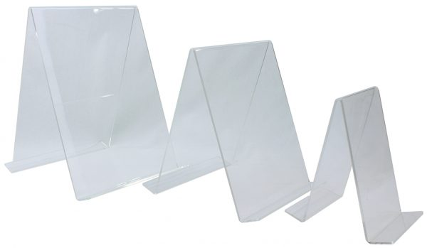Double Sided Acrylic Book Easel Range