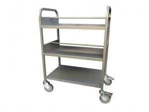 Metal Book Trolleys