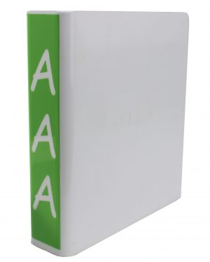 Slimline Acrylic Divider Stand & Signs