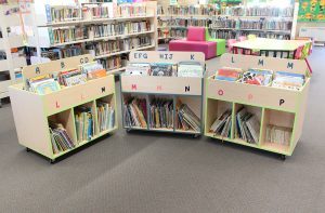 school library furniture and shelving design