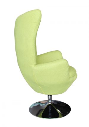 classroom library teacher reading chair green egg shaped