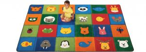 classroom and library floor mat